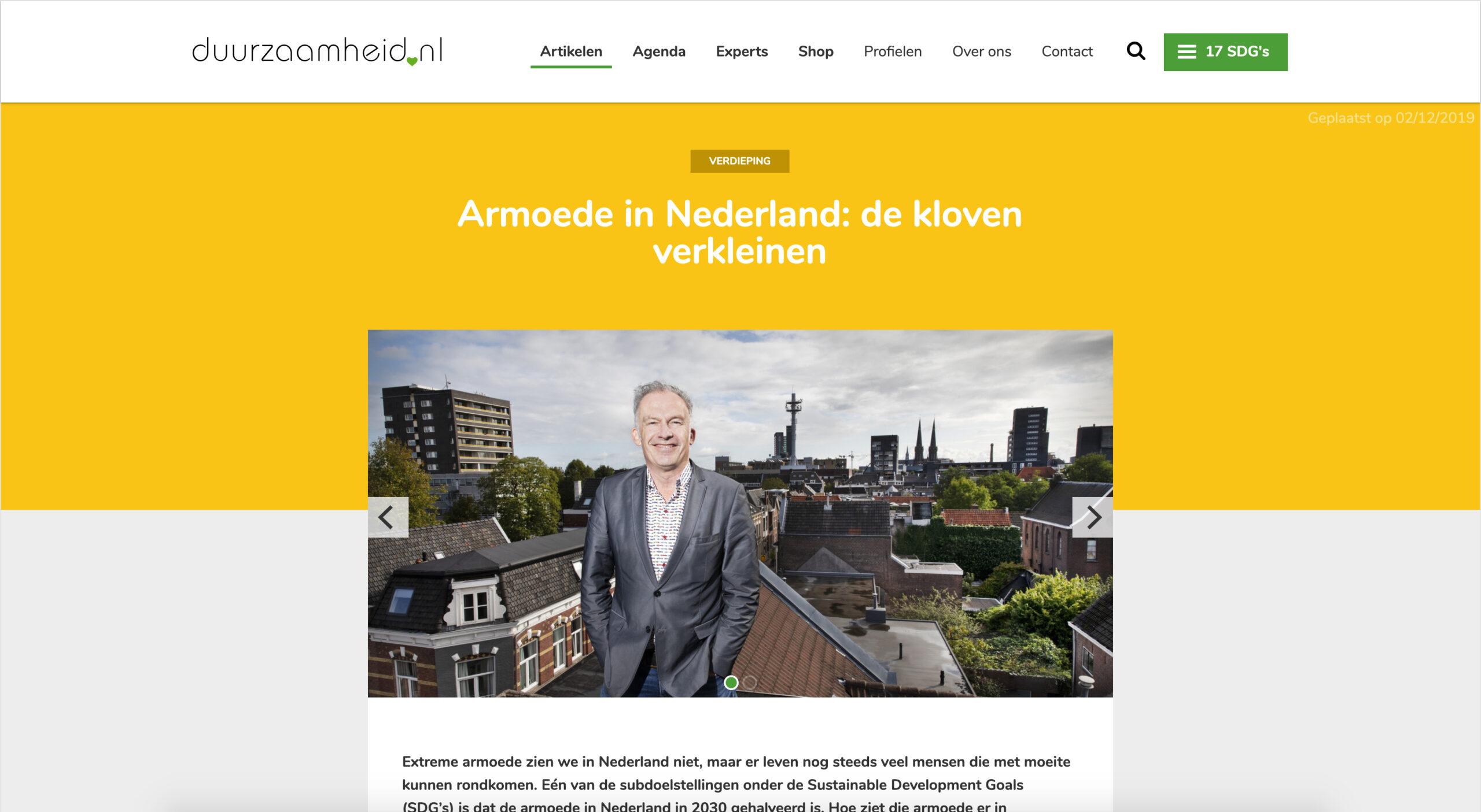 Armoede In Nederland: De Kloven Verkleinen